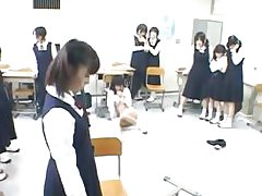 Koreans students in the classroom are
