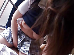 Japanese chick is fragile of being twofold owned on camera