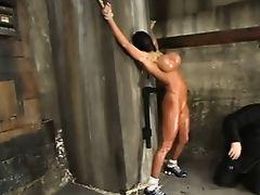 Dominant male bondage. teasing