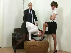 Secretary punished for being idle