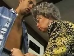 Granny with a Boy R20