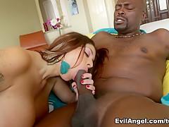 Incredible pornstars Jillian Janson, Mike Adriano, Lexington Steele in Best Big Ass, Redhead adult video