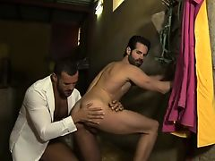 Muscle gay piss with facial