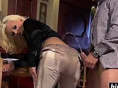 Horny guy bangs two naughty babes