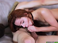 Cleo Bardots tight pussy receiving Tyler Nixons cock