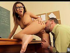 Young Asian Sucks And Fucks Teachers Cock Alina Li